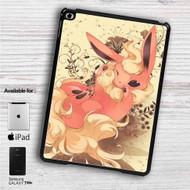 """Flareon Pokemon iPad 2 3 4 iPad Mini 1 2 3 4 iPad Air 1 2   Samsung Galaxy Tab 10.1"""" Tab 2 7"""" Tab 3 7"""" Tab 3 8"""" Tab 4 7"""" Case"""