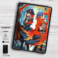 "Gurren Lagann Simon and Kamina iPad 2 3 4 iPad Mini 1 2 3 4 iPad Air 1 2 | Samsung Galaxy Tab 10.1"" Tab 2 7"" Tab 3 7"" Tab 3 8"" Tab 4 7"" Case"