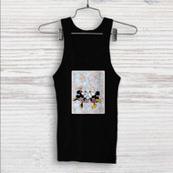 Mickey Mouse and Minnie Mouse Pattern Custom Men Woman Tank Top T Shirt Shirt