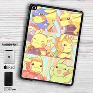 """Pikachu as Avengers Characters iPad 2 3 4 iPad Mini 1 2 3 4 iPad Air 1 2   Samsung Galaxy Tab 10.1"""" Tab 2 7"""" Tab 3 7"""" Tab 3 8"""" Tab 4 7"""" Case"""