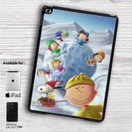 "Snoopy The Peanuts Gang With Snowball iPad 2 3 4 iPad Mini 1 2 3 4 iPad Air 1 2   Samsung Galaxy Tab 10.1"" Tab 2 7"" Tab 3 7"" Tab 3 8"" Tab 4 7"" Case"