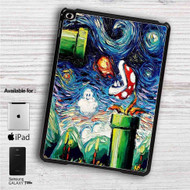 "Super Mario Starry Night iPad 2 3 4 iPad Mini 1 2 3 4 iPad Air 1 2 | Samsung Galaxy Tab 10.1"" Tab 2 7"" Tab 3 7"" Tab 3 8"" Tab 4 7"" Case"