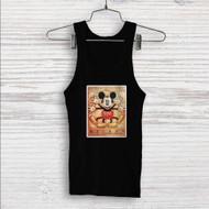 Vitruvian Mickey Mouse Custom Men Woman Tank Top T Shirt Shirt