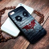 joke face batman logo bansky on your case iphone 4 4s 5 5s 5c 6 6plus 7 case / cases