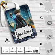Kirito Sword Art Online 1 Custom Leather Luggage Tag