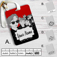 Peter Pan The Lost Boys Custom Leather Luggage Tag