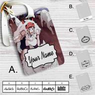 Princess Mononoke Studio Ghibli Custom Leather Luggage Tag