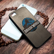 jurassic world on your case iphone 4 4s 5 5s 5c 6 6plus 7 case / cases