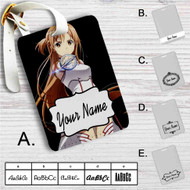Sword Art Online Asuna Custom Leather Luggage Tag