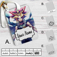 Yami Yugi YuGiOh Custom Leather Luggage Tag