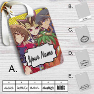 YuGiOh Generation Custom Leather Luggage Tag