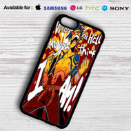 Gurren Lagann Kamina iPhone 4/4S 5 S/C/SE 6/6S Plus 7| Samsung Galaxy S4 S5 S6 S7 NOTE 3 4 5| LG G2 G3 G4| MOTOROLA MOTO X X2 NEXUS 6| SONY Z3 Z4 MINI| HTC ONE X M7 M8 M9 M8 MINI CASE