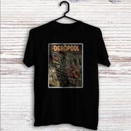 Deadpool on Train Custom T Shirt Tank Top Men and Woman