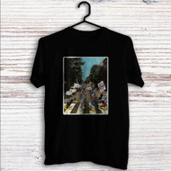 Disney Abbey Road Custom T Shirt Tank Top Men and Woman