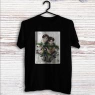 Eren & Rivaille Shingeki no Kyojin Custom T Shirt Tank Top Men and Woman