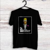 Homer Simpson Godfather Custom T Shirt Tank Top Men and Woman