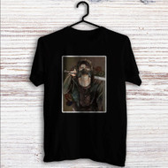 Levi Shingeki no Kyojin 1 Custom T Shirt Tank Top Men and Woman