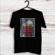 My Neighbor Totoro as Snoopy The Peanuts Custom T Shirt Tank Top Men and Woman