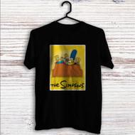The Simpsons Watching TV Custom T Shirt Tank Top Men and Woman