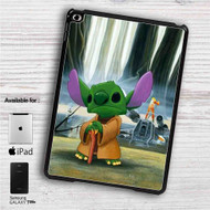 "Disney Stitch Yoda iPad 2 3 4 iPad Mini 1 2 3 4 iPad Air 1 2 | Samsung Galaxy Tab 10.1"" Tab 2 7"" Tab 3 7"" Tab 3 8"" Tab 4 7"" Case"