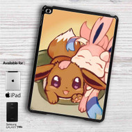 "Eevee and Sylveon Pokemon iPad 2 3 4 iPad Mini 1 2 3 4 iPad Air 1 2 | Samsung Galaxy Tab 10.1"" Tab 2 7"" Tab 3 7"" Tab 3 8"" Tab 4 7"" Case"