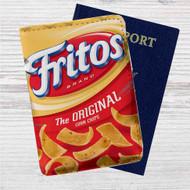 Fritos Original Custom Leather Passport Wallet Case Cover