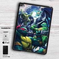 "Teenage Mutant Ninja Turtles With Batman Movie iPad 2 3 4 iPad Mini 1 2 3 4 iPad Air 1 2   Samsung Galaxy Tab 10.1"" Tab 2 7"" Tab 3 7"" Tab 3 8"" Tab 4 7"" Case"
