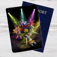 Rockstars Princess Disney Custom Leather Passport Wallet Case Cover