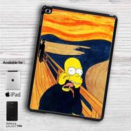 "The Simpsons Scream iPad 2 3 4 iPad Mini 1 2 3 4 iPad Air 1 2   Samsung Galaxy Tab 10.1"" Tab 2 7"" Tab 3 7"" Tab 3 8"" Tab 4 7"" Case"