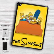 """The Simpsons Watching TV iPad 2 3 4 iPad Mini 1 2 3 4 iPad Air 1 2   Samsung Galaxy Tab 10.1"""" Tab 2 7"""" Tab 3 7"""" Tab 3 8"""" Tab 4 7"""" Case"""