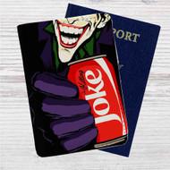 The Killing Coke Joker Custom Leather Passport Wallet Case Cover