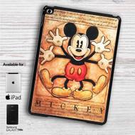 "Vitruvian Mickey Mouse iPad 2 3 4 iPad Mini 1 2 3 4 iPad Air 1 2 | Samsung Galaxy Tab 10.1"" Tab 2 7"" Tab 3 7"" Tab 3 8"" Tab 4 7"" Case"