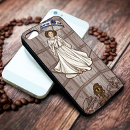 Leia disney on your case iphone 4 4s 5 5s 5c 6 6plus 7 case / cases