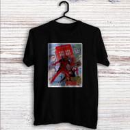 Doctor Who Deadpool Custom T Shirt Tank Top Men and Woman