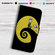 Charlie and Snoopy Skellington Custom Leather Wallet iPhone 4/4S 5S/C 6/6S Plus 7| Samsung Galaxy S4 S5 S6 S7 Note 3 4 5| LG G2 G3 G4| Motorola Moto X X2 Nexus 6| Sony Z3 Z4 Mini| HTC ONE X M7 M8 M9 Case