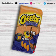 Cheetos Twisted Custom Leather Wallet iPhone 4/4S 5S/C 6/6S Plus 7| Samsung Galaxy S4 S5 S6 S7 Note 3 4 5| LG G2 G3 G4| Motorola Moto X X2 Nexus 6| Sony Z3 Z4 Mini| HTC ONE X M7 M8 M9 Case