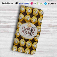 Ferrero Rocher Chocolate Custom Leather Wallet iPhone 4/4S 5S/C 6/6S Plus 7| Samsung Galaxy S4 S5 S6 S7 Note 3 4 5| LG G2 G3 G4| Motorola Moto X X2 Nexus 6| Sony Z3 Z4 Mini| HTC ONE X M7 M8 M9 Case