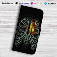 Heart On Fire Howl Moving Castle Custom Leather Wallet iPhone 4/4S 5S/C 6/6S Plus 7| Samsung Galaxy S4 S5 S6 S7 Note 3 4 5| LG G2 G3 G4| Motorola Moto X X2 Nexus 6| Sony Z3 Z4 Mini| HTC ONE X M7 M8 M9 Case