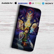 Lego The Legend of Zelda Custom Leather Wallet iPhone 4/4S 5S/C 6/6S Plus 7| Samsung Galaxy S4 S5 S6 S7 Note 3 4 5| LG G2 G3 G4| Motorola Moto X X2 Nexus 6| Sony Z3 Z4 Mini| HTC ONE X M7 M8 M9 Case