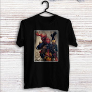 Spider-Man vs Wolverine Custom T Shirt Tank Top Men and Woman