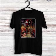 Superhero Drunk Spiderman Deadpool Custom T Shirt Tank Top Men and Woman