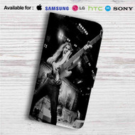 Steve Harris Iron Maiden Custom Leather Wallet iPhone 4/4S 5S/C 6/6S Plus 7| Samsung Galaxy S4 S5 S6 S7 Note 3 4 5| LG G2 G3 G4| Motorola Moto X X2 Nexus 6| Sony Z3 Z4 Mini| HTC ONE X M7 M8 M9 Case