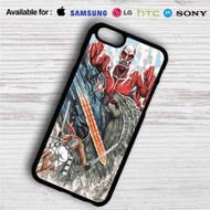 Attack on Godzilla iPhone 4/4S 5 S/C/SE 6/6S Plus 7| Samsung Galaxy S4 S5 S6 S7 NOTE 3 4 5| LG G2 G3 G4| MOTOROLA MOTO X X2 NEXUS 6| SONY Z3 Z4 MINI| HTC ONE X M7 M8 M9 M8 MINI CASE