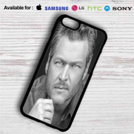 Blake Shelton iPhone 4/4S 5 S/C/SE 6/6S Plus 7  Samsung Galaxy S4 S5 S6 S7 NOTE 3 4 5  LG G2 G3 G4  MOTOROLA MOTO X X2 NEXUS 6  SONY Z3 Z4 MINI  HTC ONE X M7 M8 M9 M8 MINI CASE