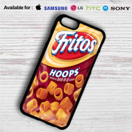 Fritos Hoops iPhone 4/4S 5 S/C/SE 6/6S Plus 7  Samsung Galaxy S4 S5 S6 S7 NOTE 3 4 5  LG G2 G3 G4  MOTOROLA MOTO X X2 NEXUS 6  SONY Z3 Z4 MINI  HTC ONE X M7 M8 M9 M8 MINI CASE