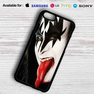 Gene Simmons Kiss iPhone 4/4S 5 S/C/SE 6/6S Plus 7| Samsung Galaxy S4 S5 S6 S7 NOTE 3 4 5| LG G2 G3 G4| MOTOROLA MOTO X X2 NEXUS 6| SONY Z3 Z4 MINI| HTC ONE X M7 M8 M9 M8 MINI CASE