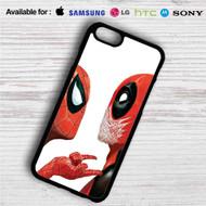 Spiderman Deadpool iPhone 4/4S 5 S/C/SE 6/6S Plus 7| Samsung Galaxy S4 S5 S6 S7 NOTE 3 4 5| LG G2 G3 G4| MOTOROLA MOTO X X2 NEXUS 6| SONY Z3 Z4 MINI| HTC ONE X M7 M8 M9 M8 MINI CASE