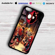Superhero Drunk Spiderman Deadpool iPhone 4/4S 5 S/C/SE 6/6S Plus 7| Samsung Galaxy S4 S5 S6 S7 NOTE 3 4 5| LG G2 G3 G4| MOTOROLA MOTO X X2 NEXUS 6| SONY Z3 Z4 MINI| HTC ONE X M7 M8 M9 M8 MINI CASE