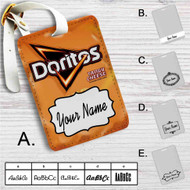 Doritos Tangy Cheese Custom Leather Luggage Tag