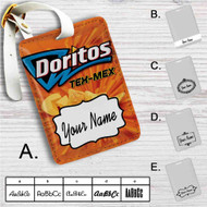 Doritos Tex Mex Custom Leather Luggage Tag